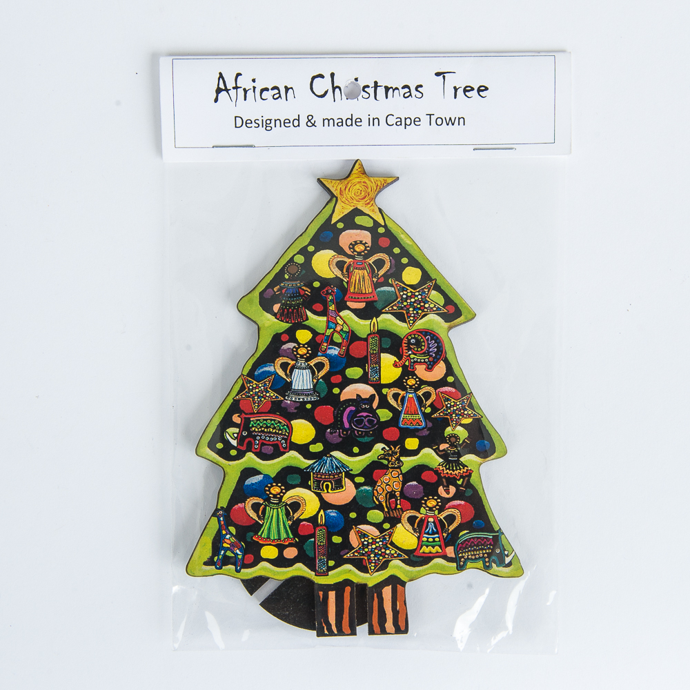 African Christmas.African Christmas Tree Small